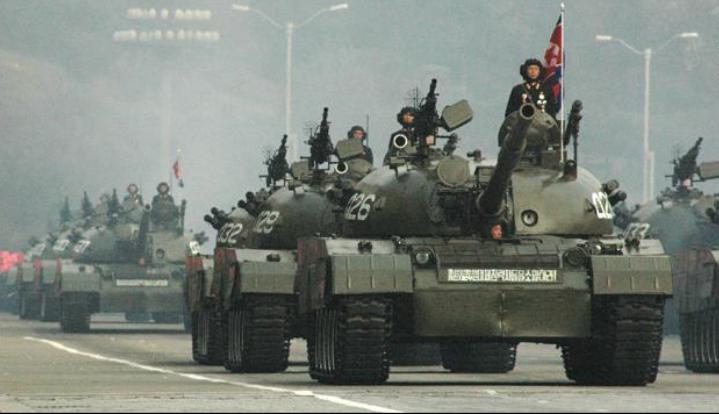 北朝鮮 軍事力