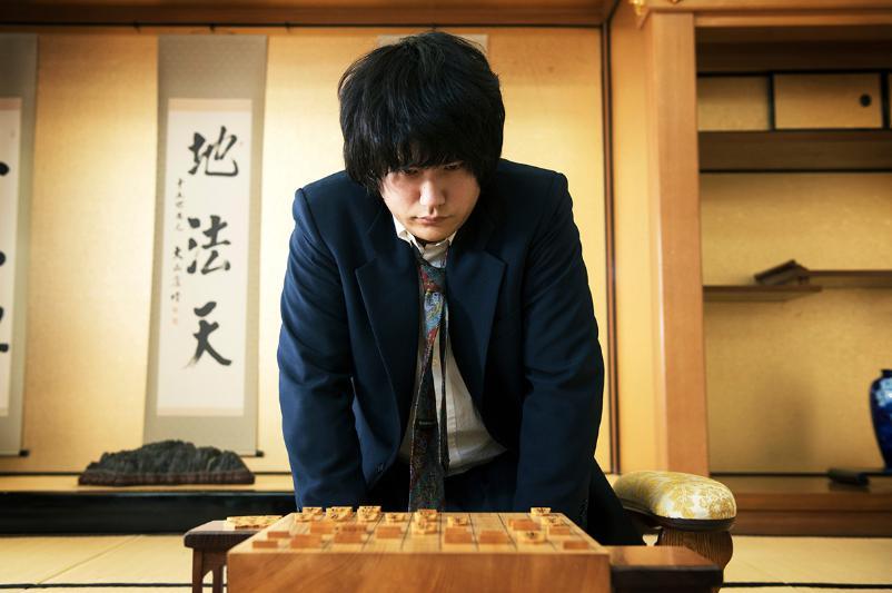 松山ケンイチ 将棋